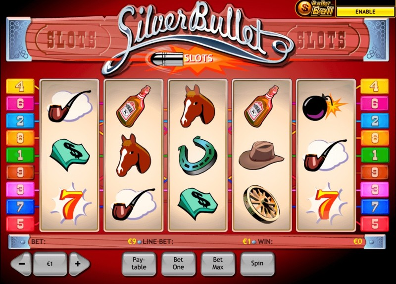 Игровой автомат «Silver Bullet» в казино Вулкан Неон