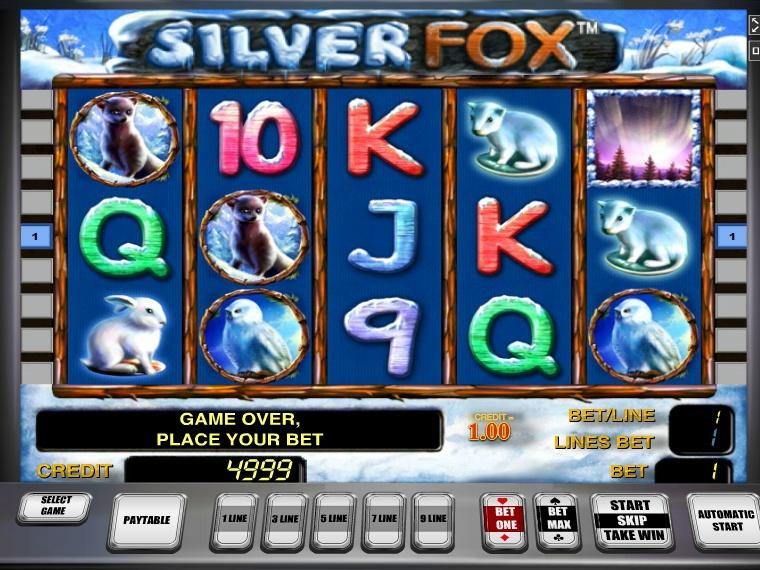 Онлайн автоматы «Silver Fox» и Vulkan игровой клуб