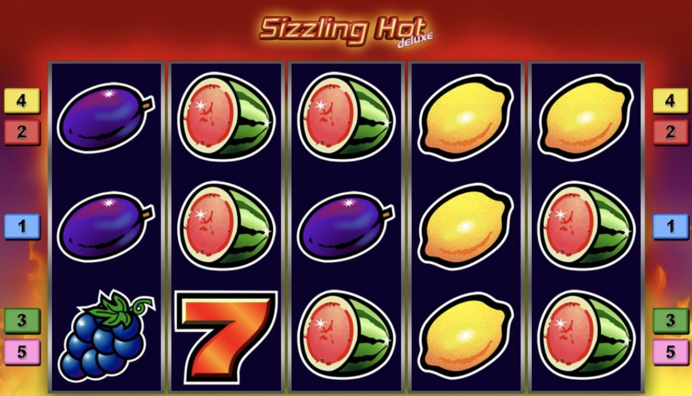 Слот «Sizzling Hot Deluxe» в казино Вулкан Победа