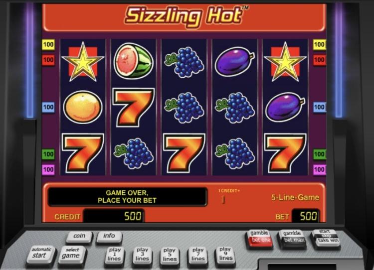 Легендарные слоты «Sizzling Hot» — играйте на официальном сайте Азино 777