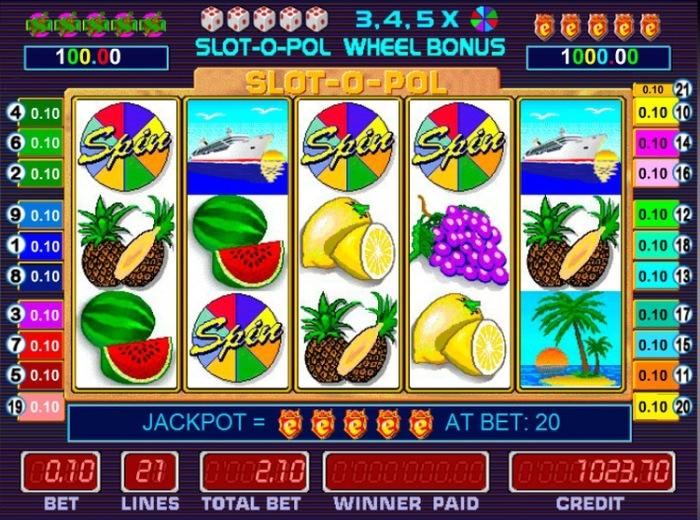 Виртуальные игровые автоматы «Slotopol» от Joy Casino