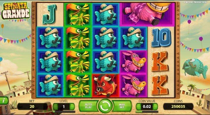 Игровой автомат «Spinata Grande» в казино Пин Ап