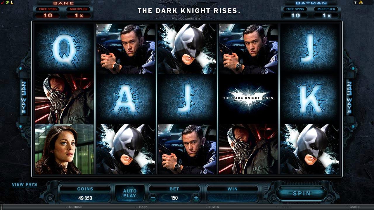 «The Dark Knight Rises» — игровые автоматы онлайн бесплатно в казино GMSlots