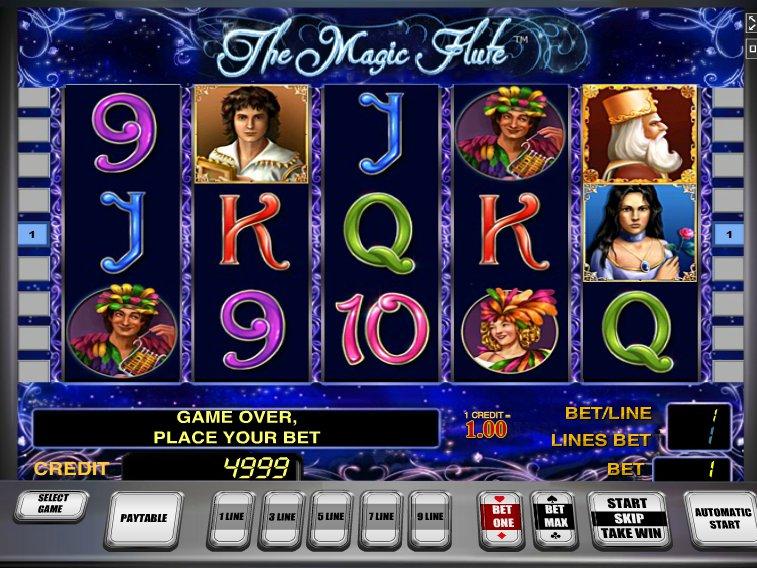 Описание слота «The Magic Flute» в казино Вавада