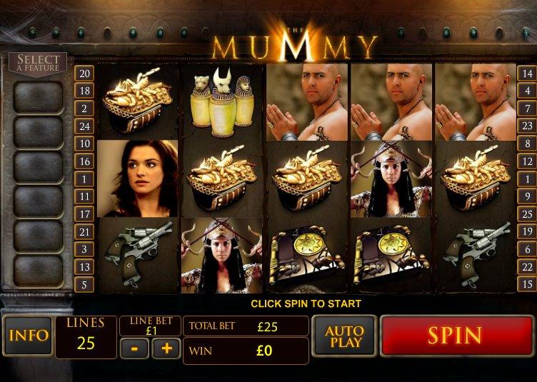 Автоматы бесплатно без регистрации «The Mummy 2018» в казино Слотозал