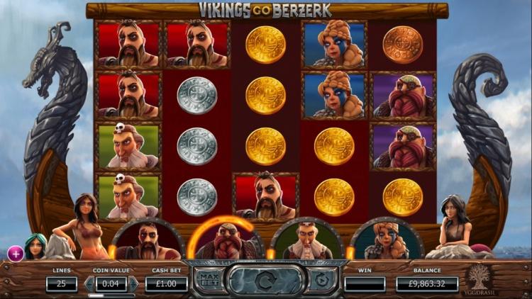 Онлайн автомат «Vikings Go Berzerk» в Джойказино 777