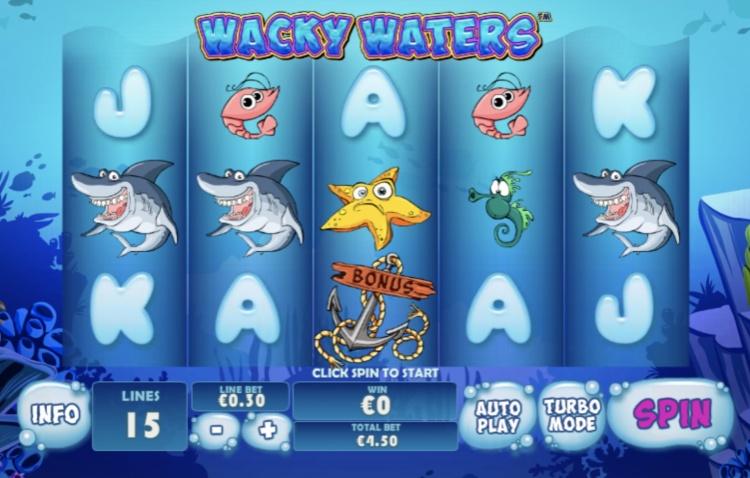 Игровые автоматы «Wacky Waters» — настоящий азарт в казино Фрэш