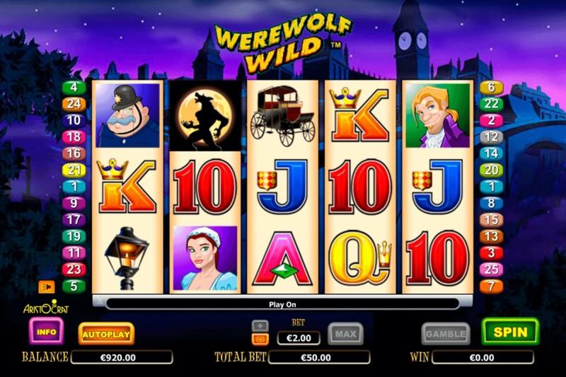 Игровой эмулятор «Werewolf Wild» — запускайте на зеркале казино Vavada