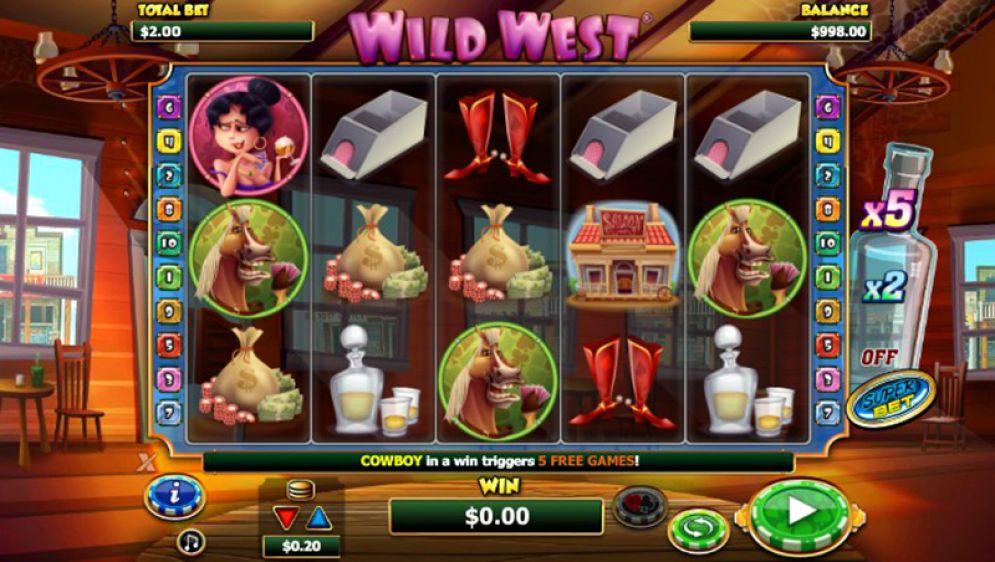 Описание слота «Wild West» от казино РиоБет
