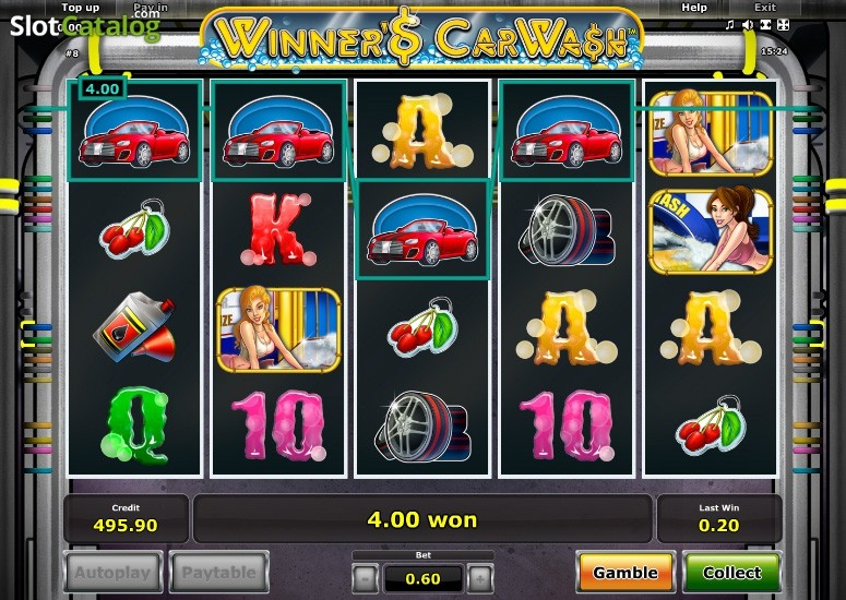 Игры Вулкан казино «Winners Car Wash»