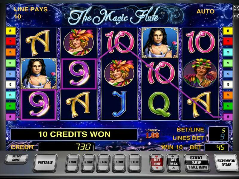 Описание слота «Wonderful Fluite» в казино Фреш